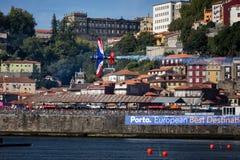 Redbull luftlopp Porto 2017 Royaltyfria Bilder