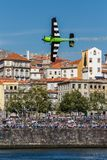 Redbull luftlopp Porto 2017 Arkivfoton