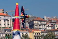 Redbull luftlopp Porto 2017 Arkivbild