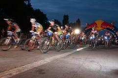 Redbull Moontimebike 2012 Lizenzfreies Stockbild