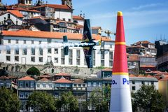 Redbull powietrza rasa Porto 2017 Obraz Stock