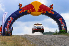RedBull Rally Stock Image