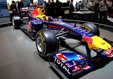Redbull Renault Formula 1 Stock Images