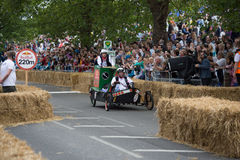 Redbull Soapbox Race 2015 Royalty Free Stock Photo
