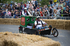 Redbull Soapbox Race 2015 royalty free stock photos