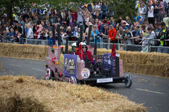 Redbull Soapbox Race 2015 royalty free stock images