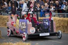 Redbull-Soapbox-Rennen 2015 Lizenzfreie Stockbilder