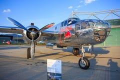 Redbull T-28B, P38and Alphajets Obrazy Royalty Free