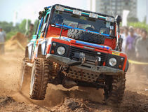 RedBull 4x4 Event Royalty Free Stock Photo