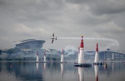 Redbullairrace55 Στοκ φωτογραφίες με δικαίωμα ελεύθερης χρήσης