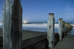 Redcar plaża Zdjęcie Stock