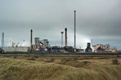 redcar stålverk för corus Royaltyfri Bild
