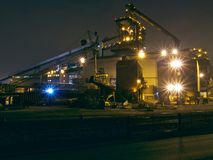 Redcar Steel Making Blast Furnace. SSI Royalty Free Stock Images