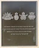 Redcliffe - Anzac Place War Memorial stock foto's