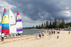 Redcliffe Festival of Sails 2017 Royalty Free Stock Photo