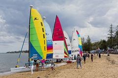 Redcliffe Festival of Sails 2017 Royalty Free Stock Image