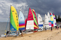 Redcliffe Festival of Sails 2017 Royalty Free Stock Photos