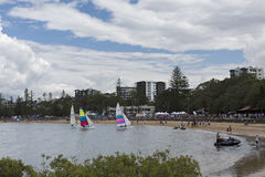 Redcliffe Festival of Sails 2017 Stock Photography