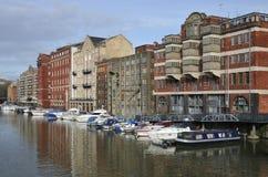 Redcliffe hamnplats, Bristol Royaltyfria Bilder