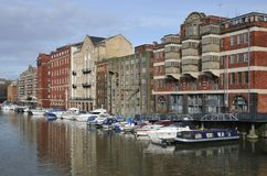 Redcliffe Wharf, Bristol Royalty Free Stock Images