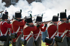 Redcoat Regiment Stock Images