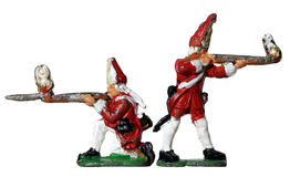 Redcoat Toy Soldiers Stock Photography