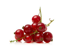 Redcurrant. Isolated over white background Stock Photo