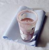 Redcurrant milk Stock Photography