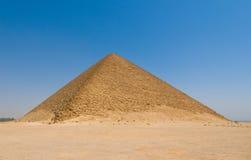 redd för dahshuregypt pyramid Royaltyfri Foto