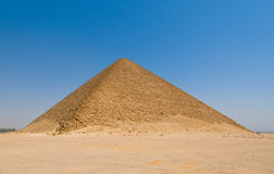 Redd pyramid at Dahshur, Egypt Royalty Free Stock Photo