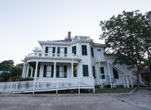 Old Mansion on the Mississippi Gulf Coast. stock image