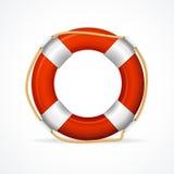 Reddingsboei Ring Red Vector Stock Fotografie