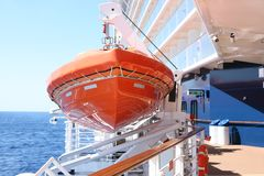 Reddingsboot Royalty-vrije Stock Foto's