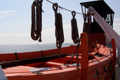 Reddingsboot Royalty-vrije Stock Foto