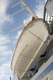 Reddingsboot op het schip Royalty-vrije Stock Foto