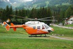 Reddingshelikopter Stock Afbeeldingen