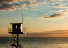 Reddingstoren - Oostzee - Usedom-Eiland royalty-vrije stock afbeeldingen