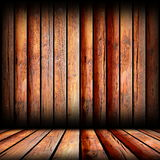 Reddish boards on indoor backdrop Stock Photos