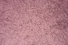 Reddish Dry Sand and Cement Stock Photo