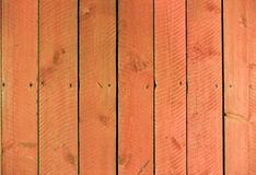 Reddish plank wall Stock Photos