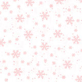 Reddish Snow Stock Images