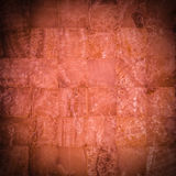 Reddish stone mosaic Stock Image