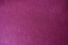 Reddish violet stockinet fabric from above Stock Image