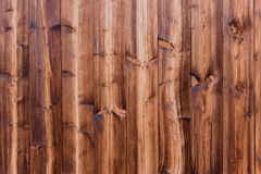 Reddish wooden wall Royalty Free Stock Images