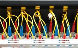 Rede ótica da fibra Fotos de Stock
