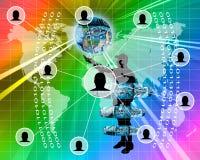 rede Imagens de Stock