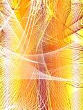 Rede abstrata ilustração royalty free