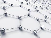 Rede abstrata da conexão ilustração do vetor