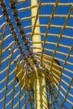 Rede amarela Foto de Stock Royalty Free