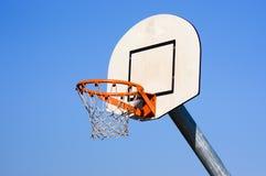 Rede ao ar livre do basquetebol Fotografia de Stock Royalty Free